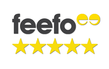 Our UK Home buying service has 5/5 stars from Feefo independent reviews