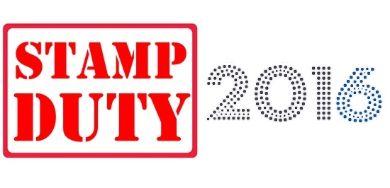 Stamp duty 2016 rates