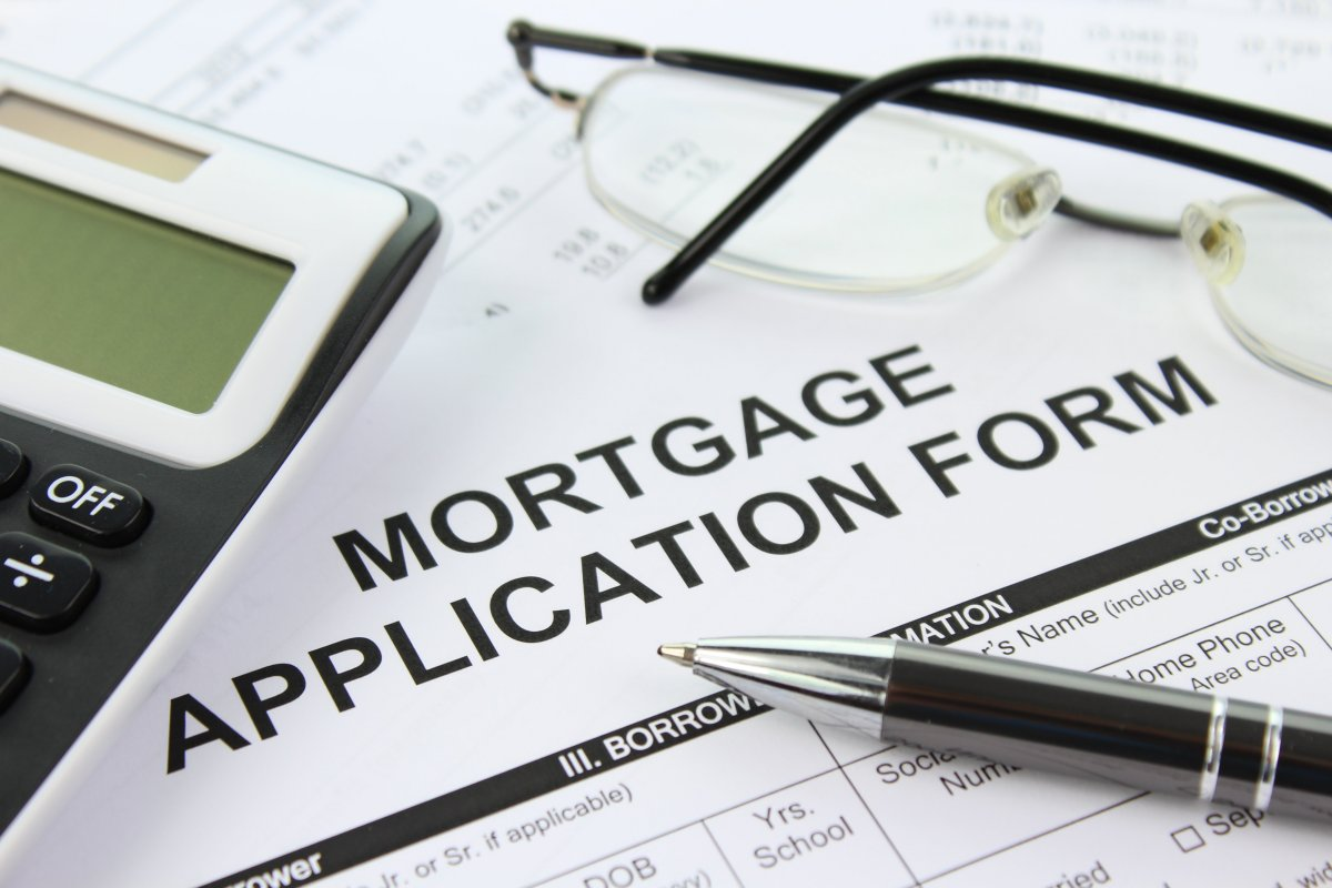 Bad credit mortgage application form