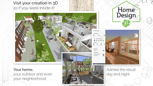Home design 3d in app screen shot