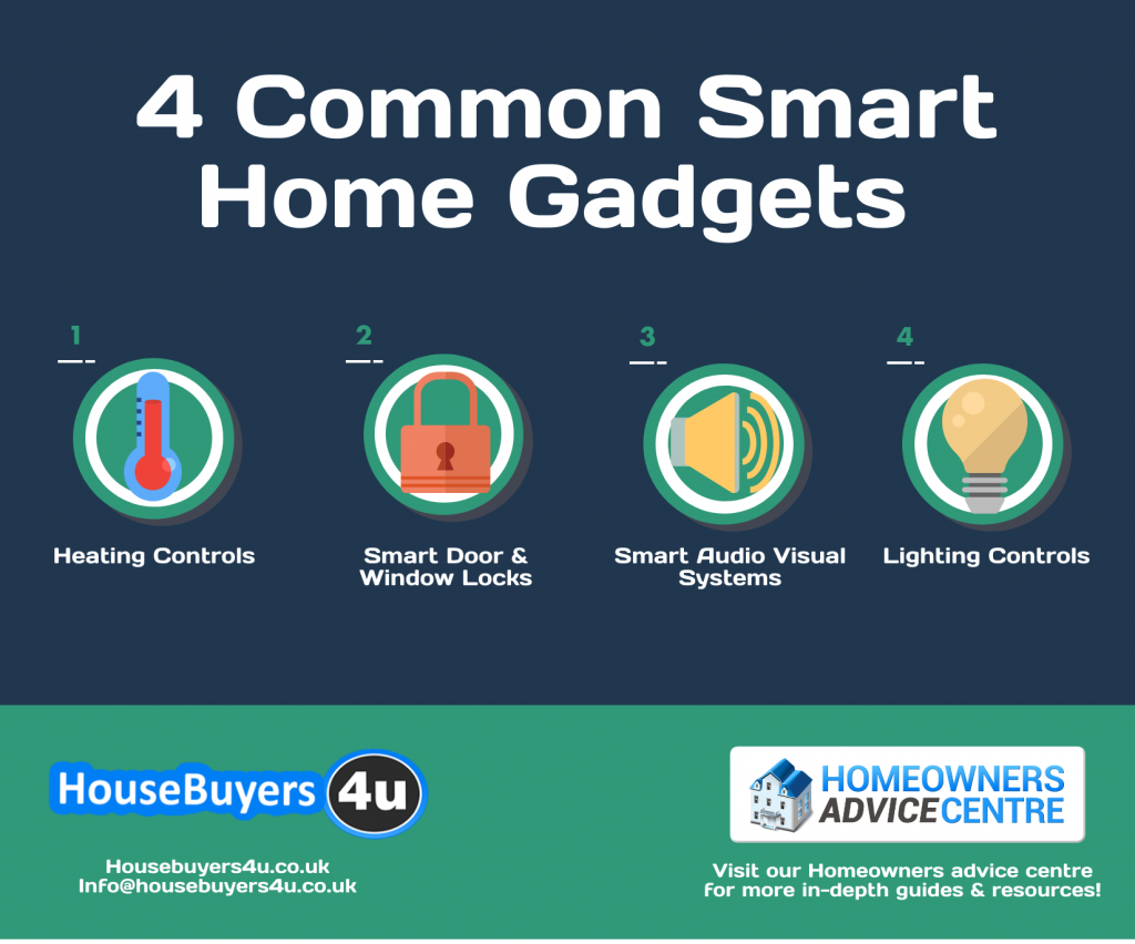 4 Common smart home gadgets