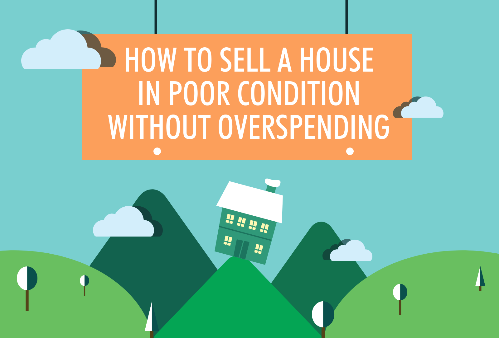 How to sell a house in poor condition without overspending